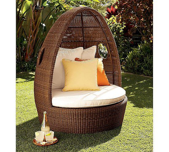 Wicker Throne Chairs | Wicker Cocoon Chair · Egg ChairOutdoor ...