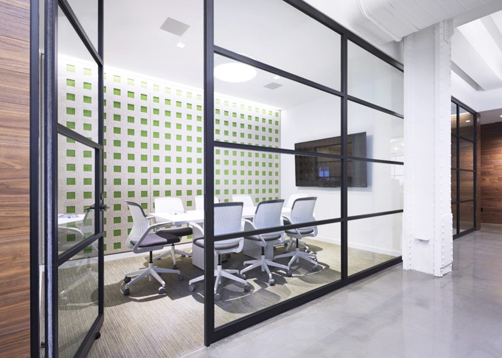 PK-30 Framed Glass Wall System - Interior Glass Walls for Commercial