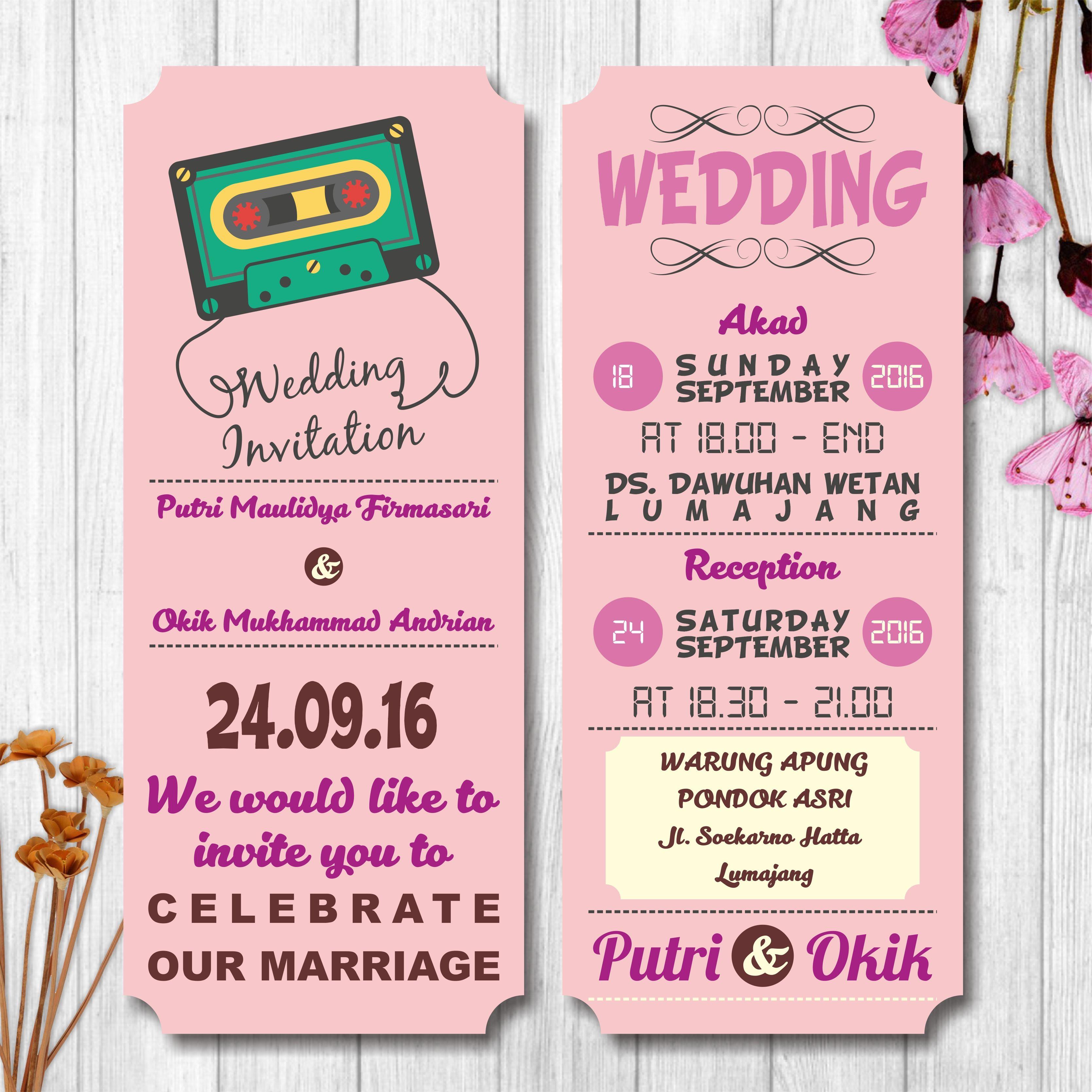 Online wedding invitation, e-invitation, wedding inviation ...
