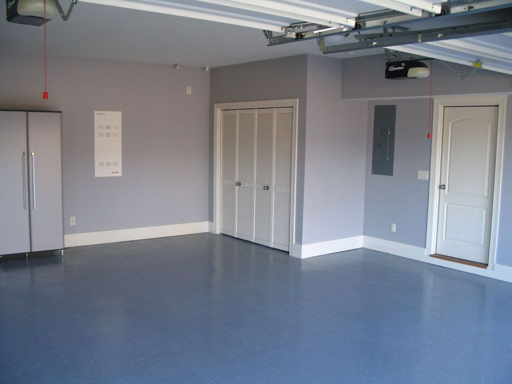 Painting Garage Garage Floor Paint For A Better Garage Look