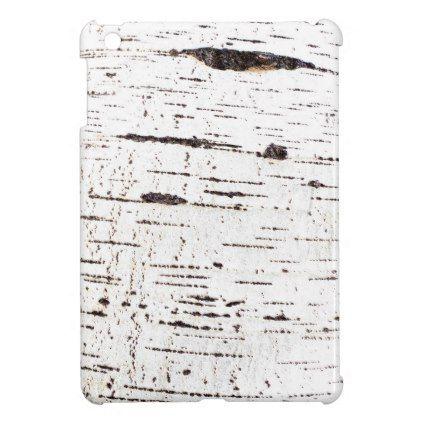 Birch bark pattern iPad mini cover Birch bark - sample cover sheet