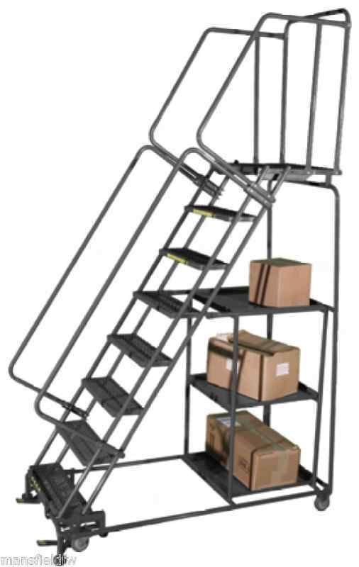 Ballymore Stock Picking Rolling Ladder All Step Sizes Rolling Ladder Ladder Stock Picks