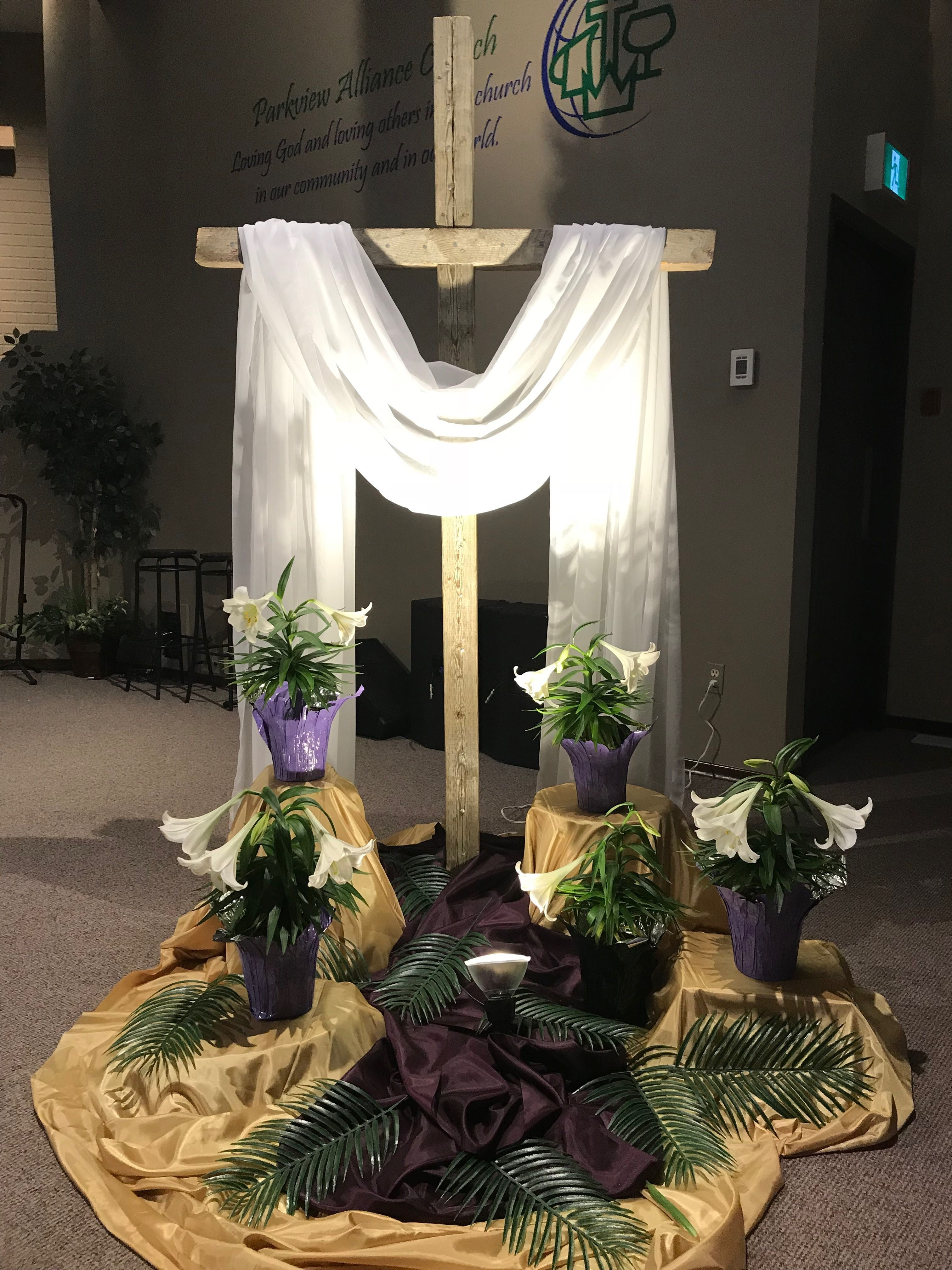 Church Decorations Easter Did Projects Church Christmas Church Easter Decorations Church Altar Decorations Easter Church
