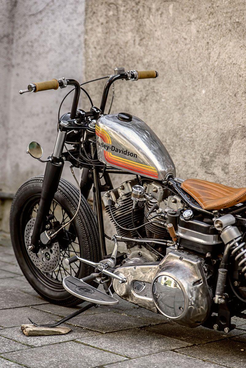 piece moto chopper
