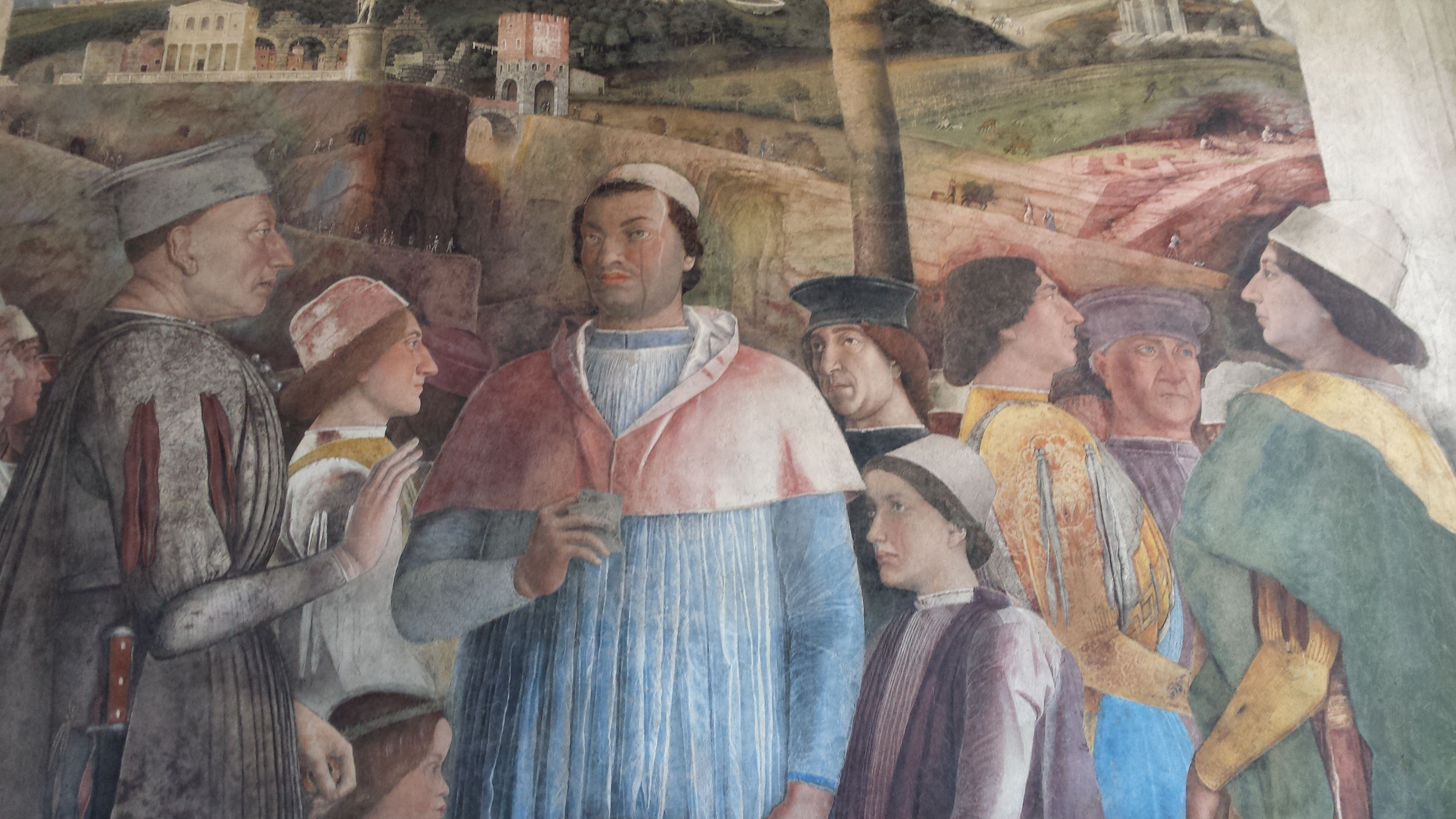 Andrea mantegna camera degli sposi del palazzo ducale di for Mantegna camera degli sposi palazzo ducale
