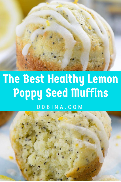 The Best Healthy Lemon Poppy Seed Muffins -   14 healthy recipes Desserts brunch food ideas