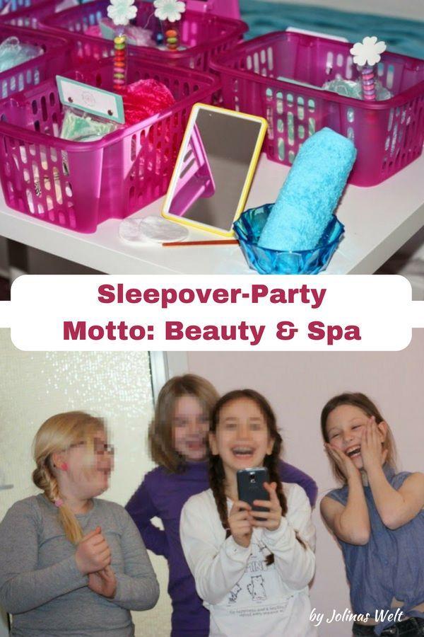 9 Jahre Louisas Geburtstagswoche Teil 2 Beauty Sleepover