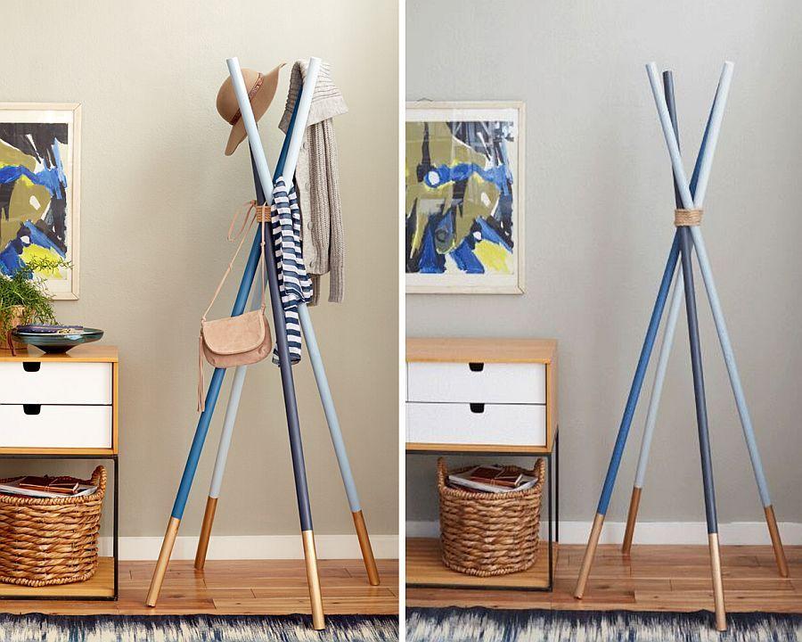 15 Diy Coat Rack Ideas That Are Easy And Fun Diy Coat Rack Diy