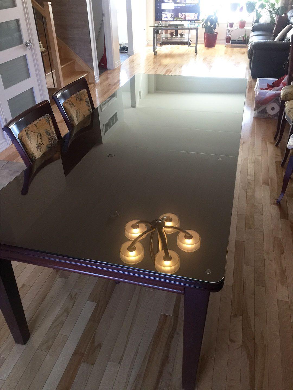 Dessus De Table En Vitre Glass