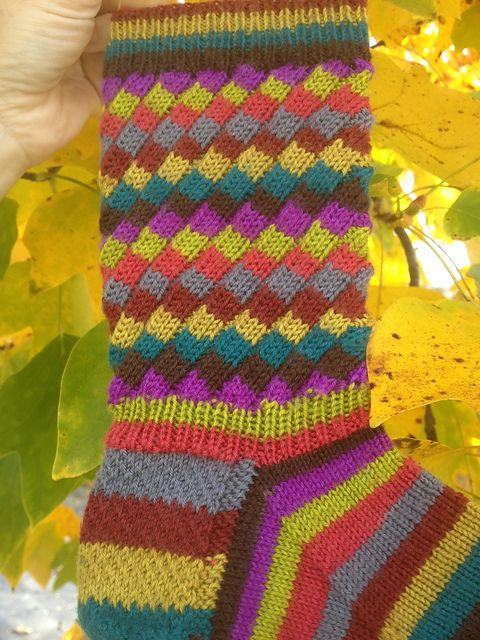 Ravelry Agileknitter S Fruit Stripe Gum 2 Jewel Tone Version Pattern Sock Patterns Knitting