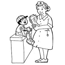 Top 10 Free Printable Community Helpers Coloring Pages Online Coloring Pages For Kids Coloring Pages Chibi Coloring Pages