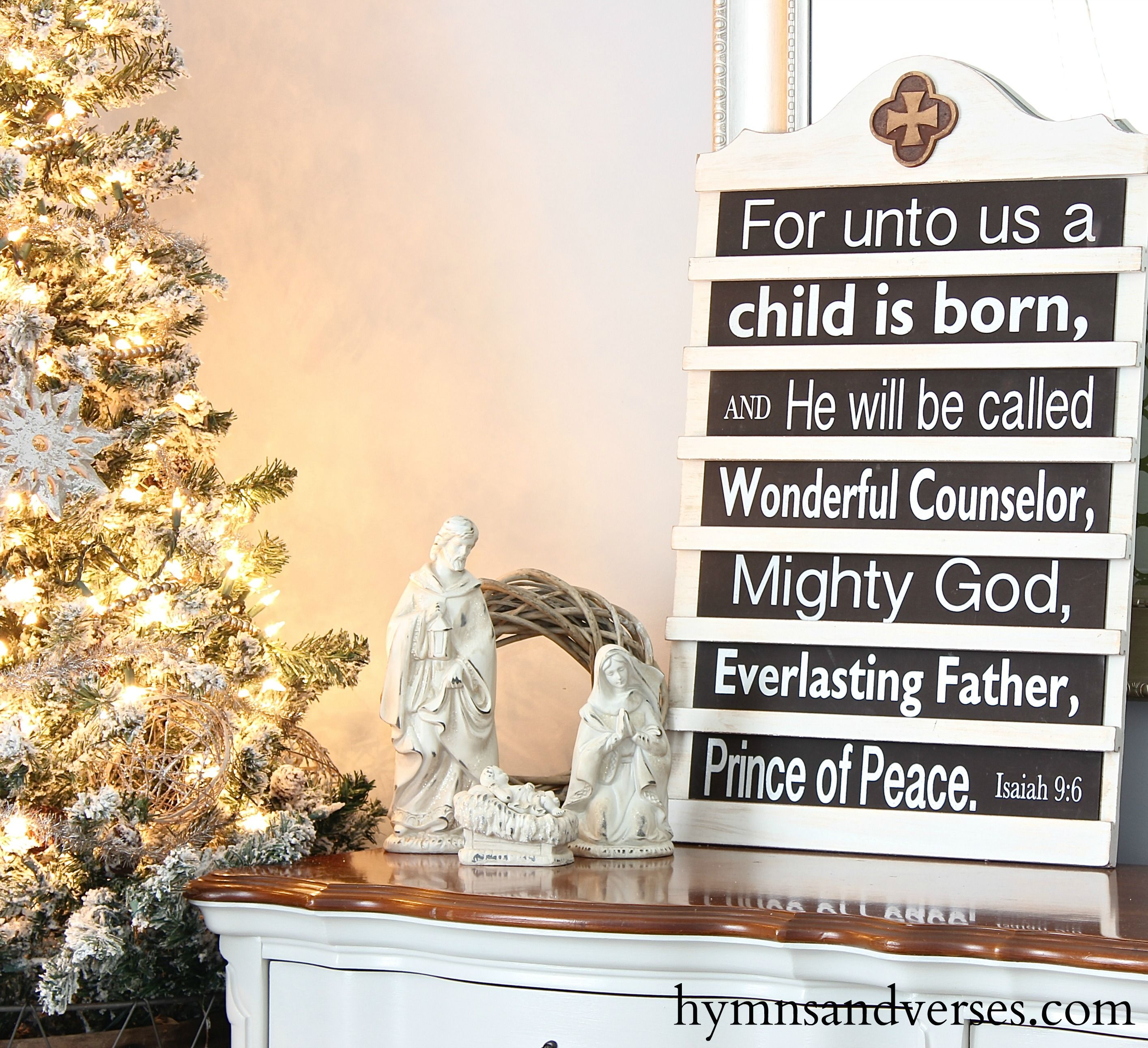 2015 hymns  verses holiday home tour  mary martha