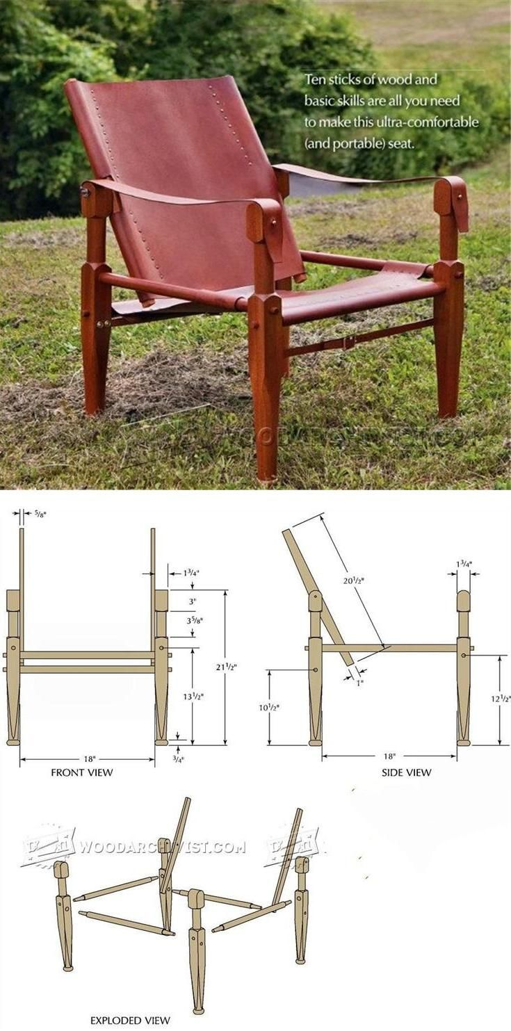 Roorkhee Chair Plans   Furniture Plans And Projects | WoodArchivist.com