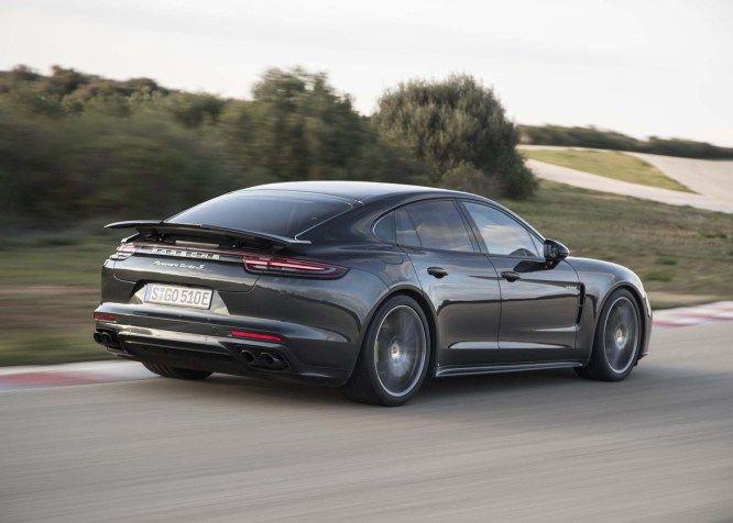 Porsche Panamera Turbo S E Híbrido 2018 Hyper Aus Auto