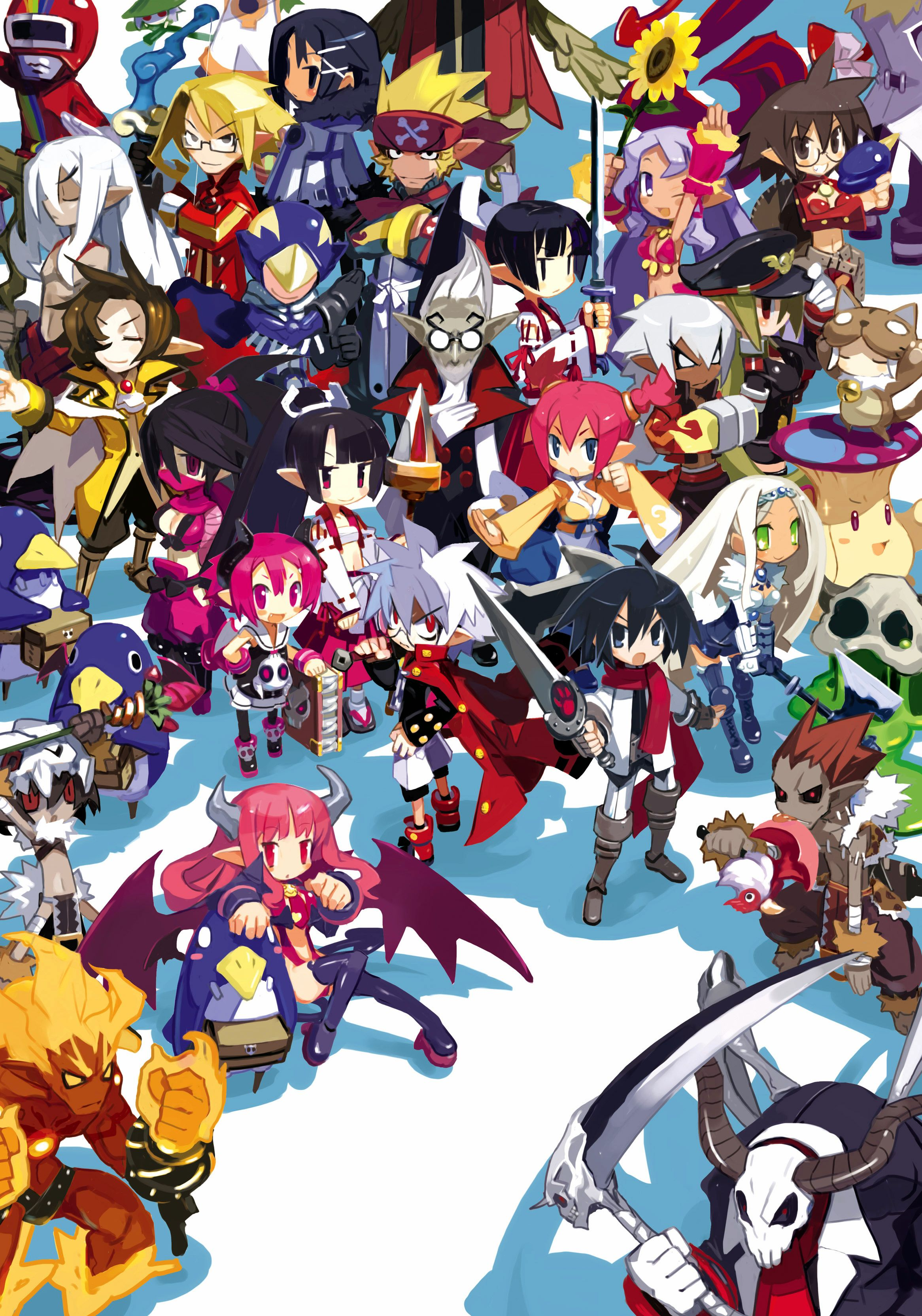 Pin By Greylle Shard On Player Character Designs Disgaea Anime Anime Images