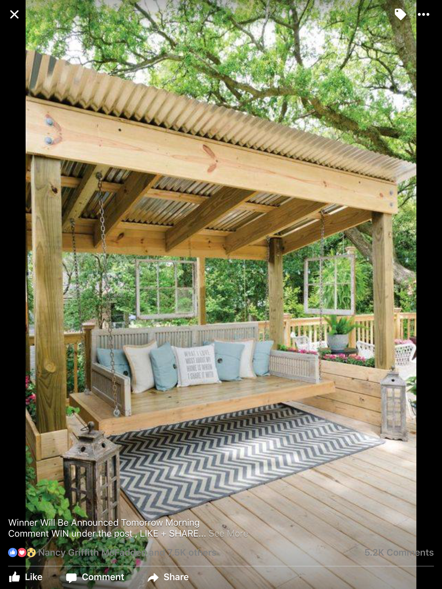 I Want This For My House Love The Tin Roof