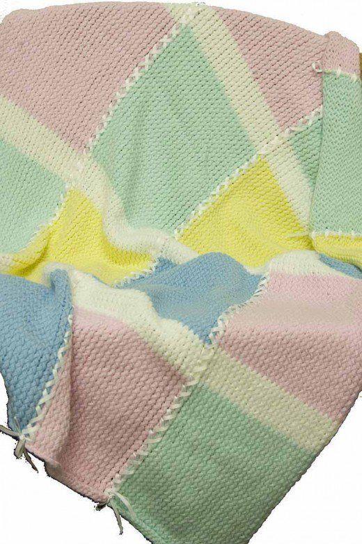 Round Loom Knitting Baby Blanket Choice Image Handicraft Ideas