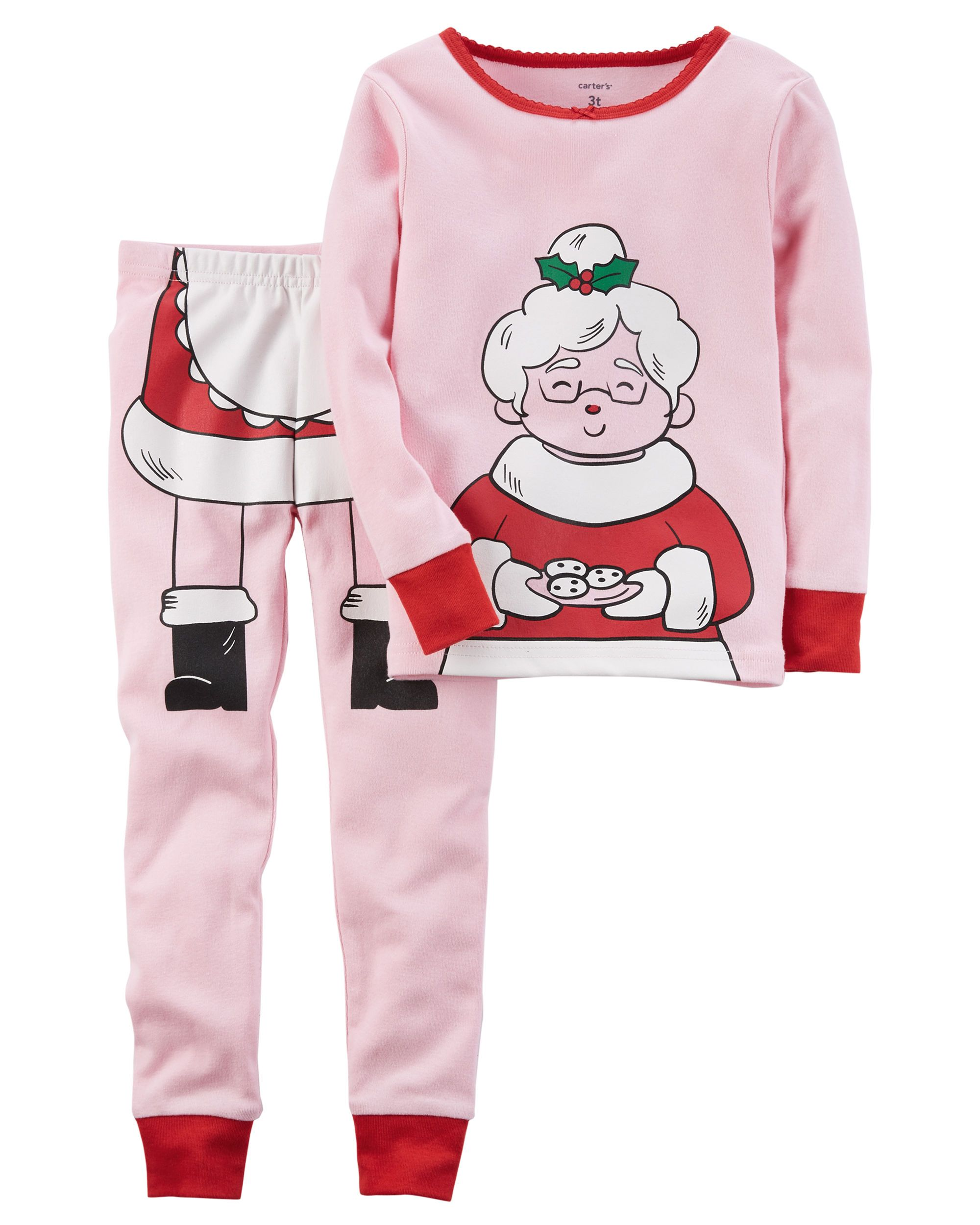 2-Piece Christmas Snug Fit Cotton PJs  12673566d