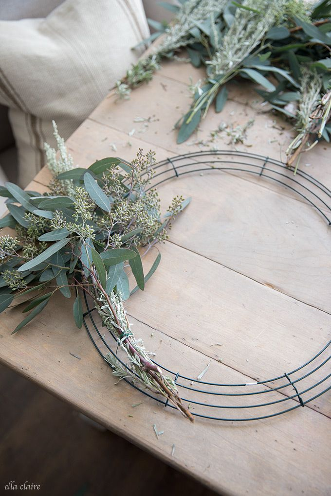 Photo of How to make a living wreath – Ella Claire