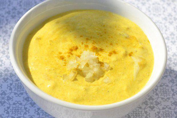 Einfache Currysauce #fondue