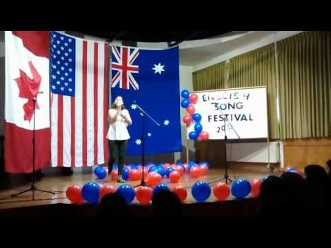 English Song Festival 2015 - YouTube