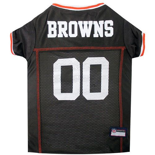 Cleveland Browns Officially Licensed NFL Pets First Dog Jersey ... 2579e66c1