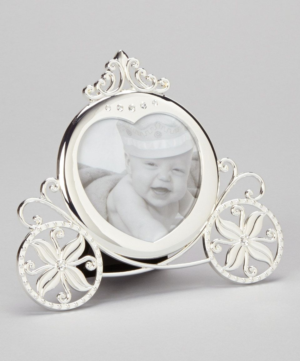 Look at this zulilyfind stephan baby silver carriage picture frame