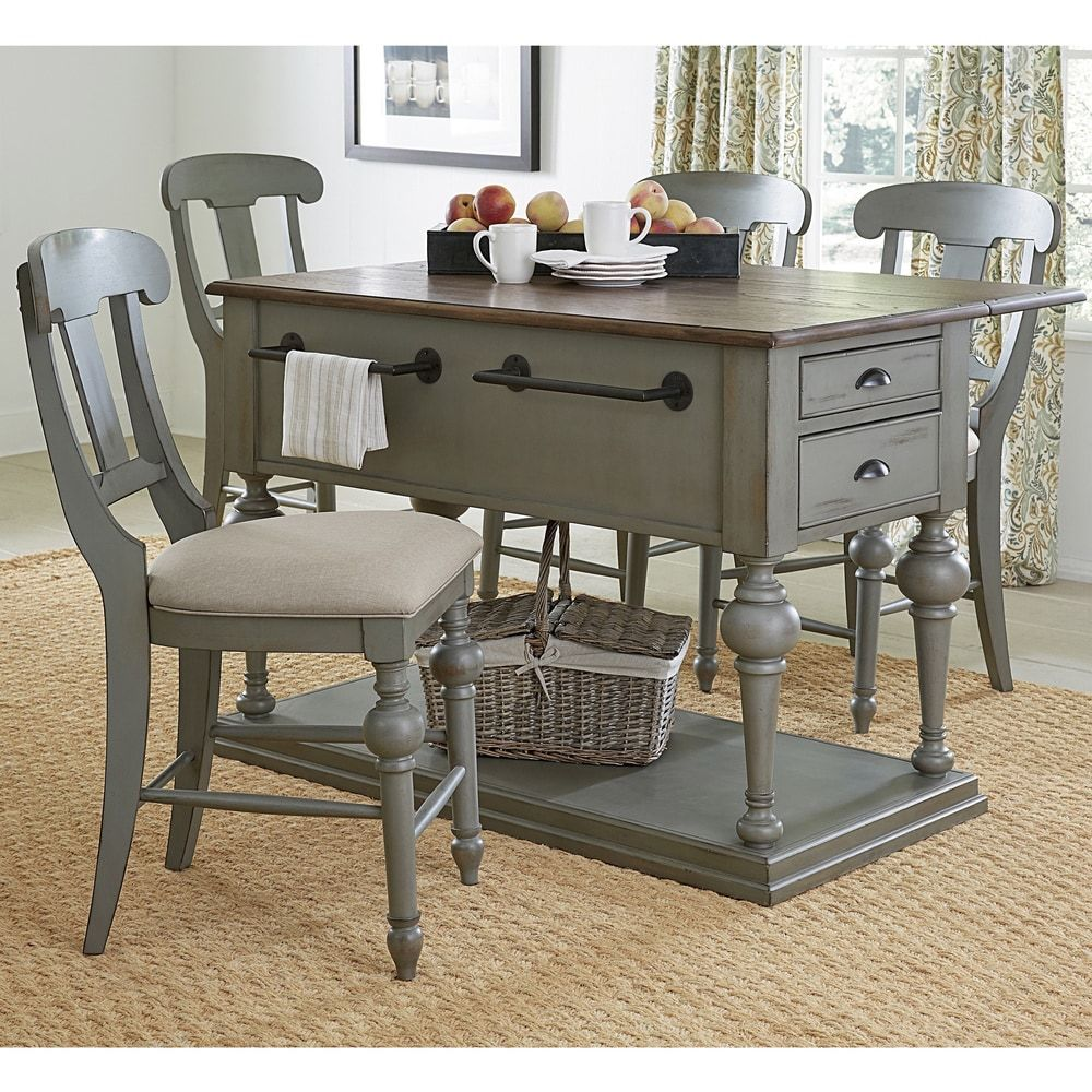 Colonnades Kitchen Island | Overstock.com Shopping - The ...