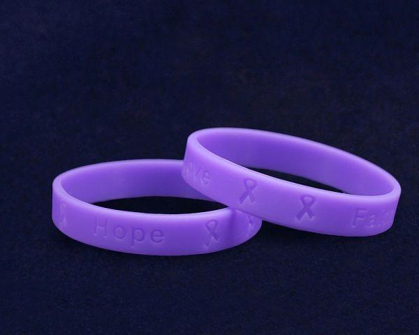 Violet Silicone Bracelets Wholesale Hodgkin S Lymphoma