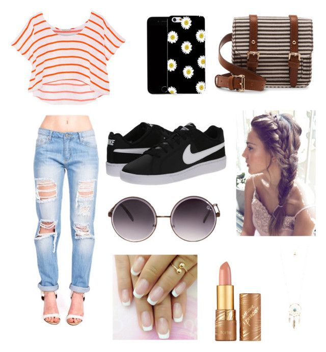 """""""Summer Casual """" by passion-for-fashionnn ❤ liked on Polyvore"""
