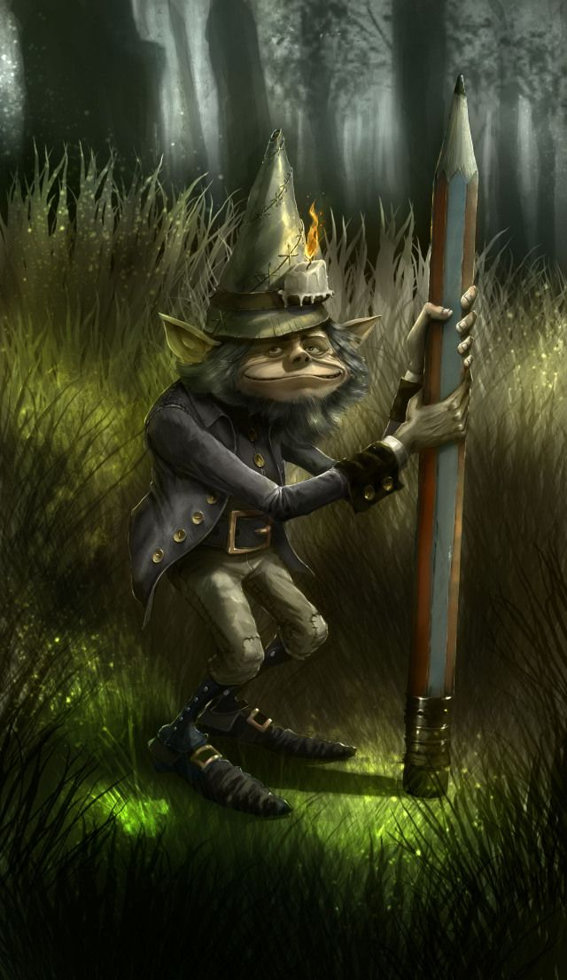 A gnome is a diminutive spirit in Renaissance magic and alchemy, first introduced by Paracelsus in the 16th Century and later adopted by more recent authors including those of modern fantasy literature. Its characteristics have been reinterpreted to suit the needs of various story-tellers, but it is typically said to be a small, humanoid creature that lives underground.