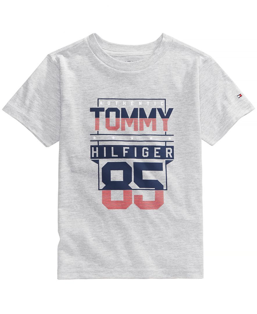 2758a498ec36b Tommy Hilfiger Graphic-Print T-Shirt