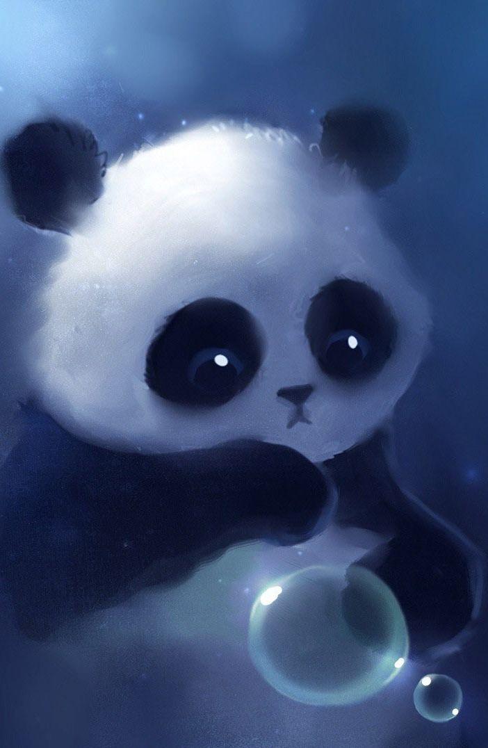 Pin By Heidy Sofia On Bubbles Cute Panda Wallpaper Panda Background Panda Wallpapers