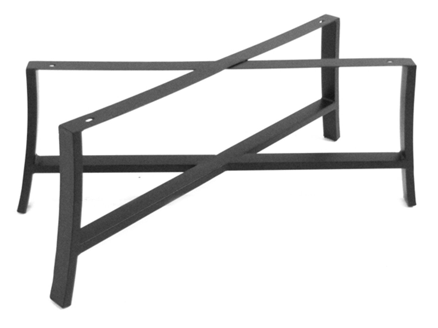 Meadowcraft Maddux Wrought Iron Coffee Table Base 4413370 01
