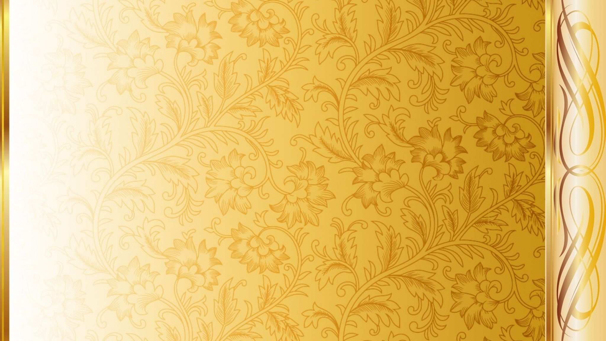 Golden Design Wallpaper : White gold backgrounds group golden