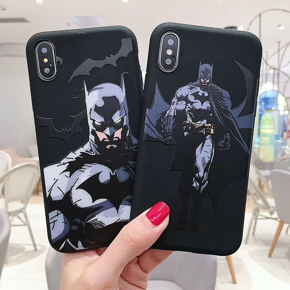 Super Hero Batman Soft UNBreak Phone Case Cover For Apple