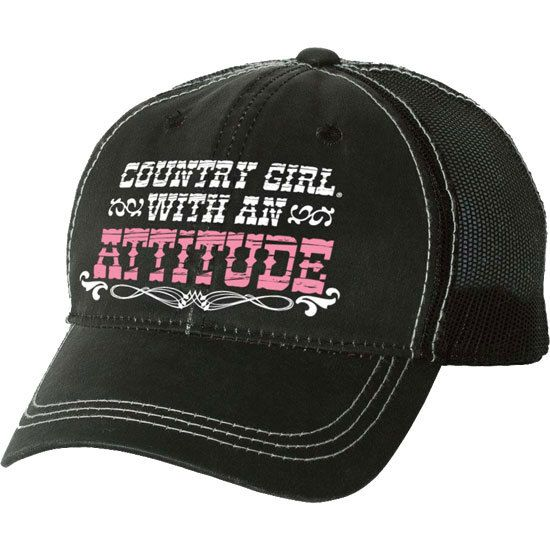 3458f8fc9b323 Country Girl Store - Women s Country Girl  Attitude Hat