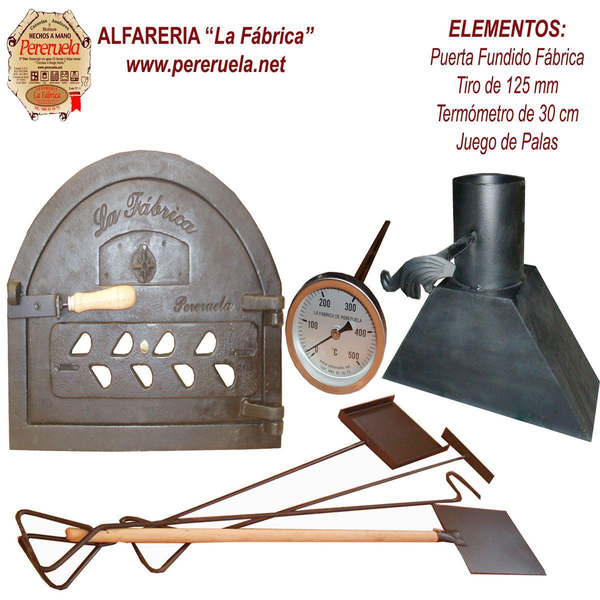 Conjunto De Accesorios Para Horno De Lena Puerta Hierro Fundido Fabrica Horno De Lena Hornos Para Pizzas Hornos Artesanales