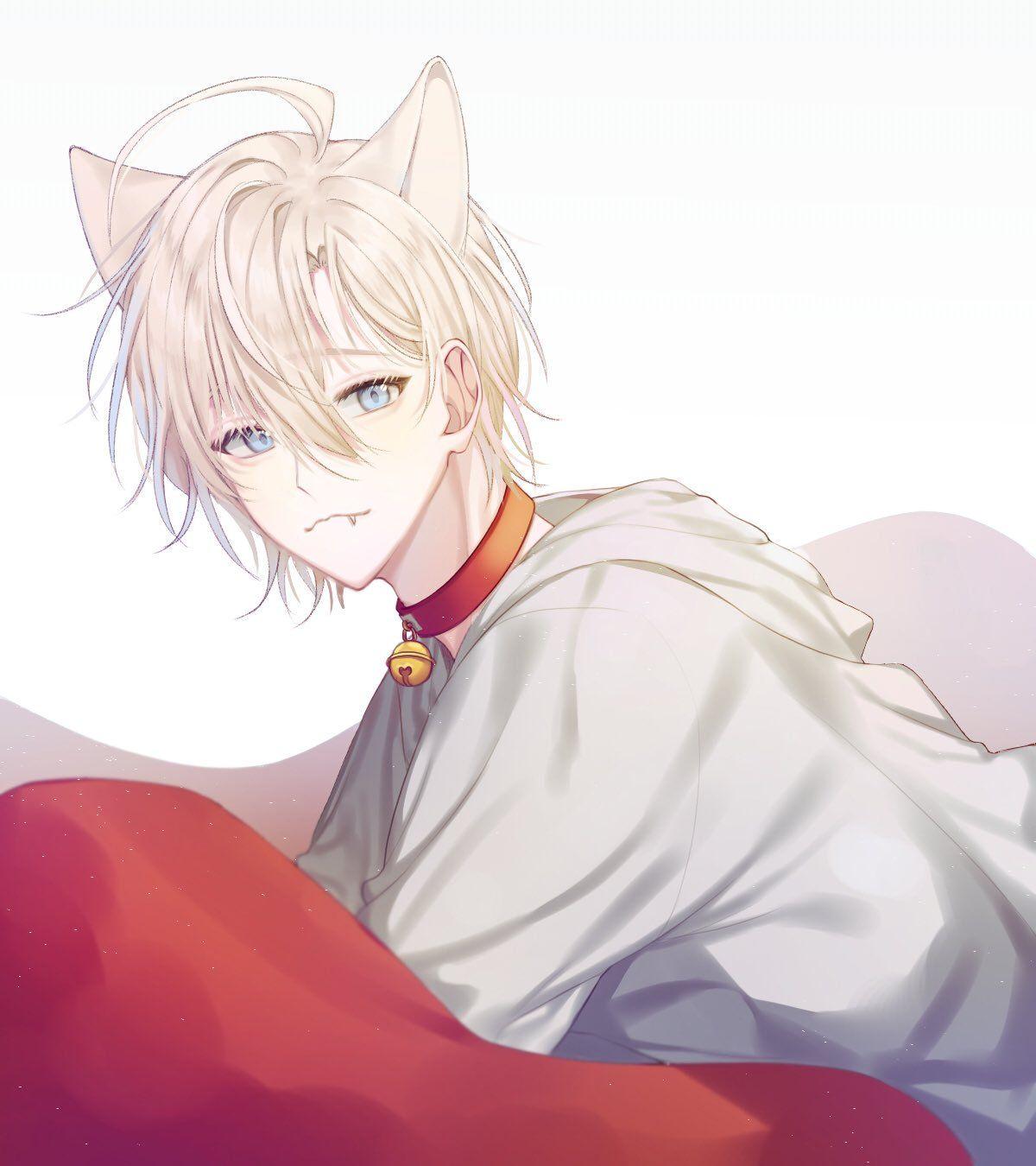 가온 on in 2020 Anime cat boy, Cute anime guys, Anime fox boy