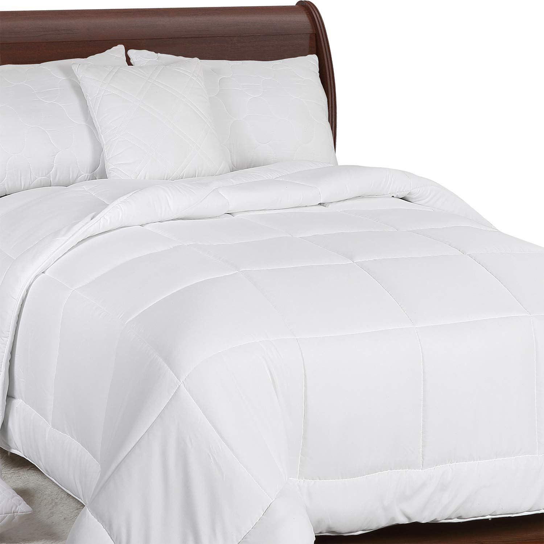 Utopia Bedding All Season Comforter 250 Gsm Plush Microfiber