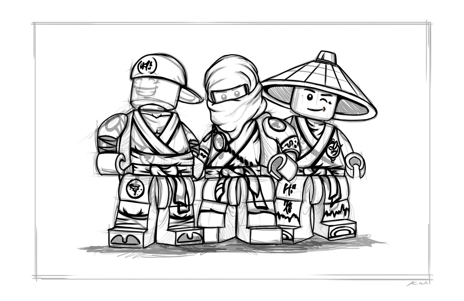 Lego Ninjago Ausmalbilder Zum Ausdrucken : Ninjago Coloring Pages Lego Ninjago Coloring Pages To Print
