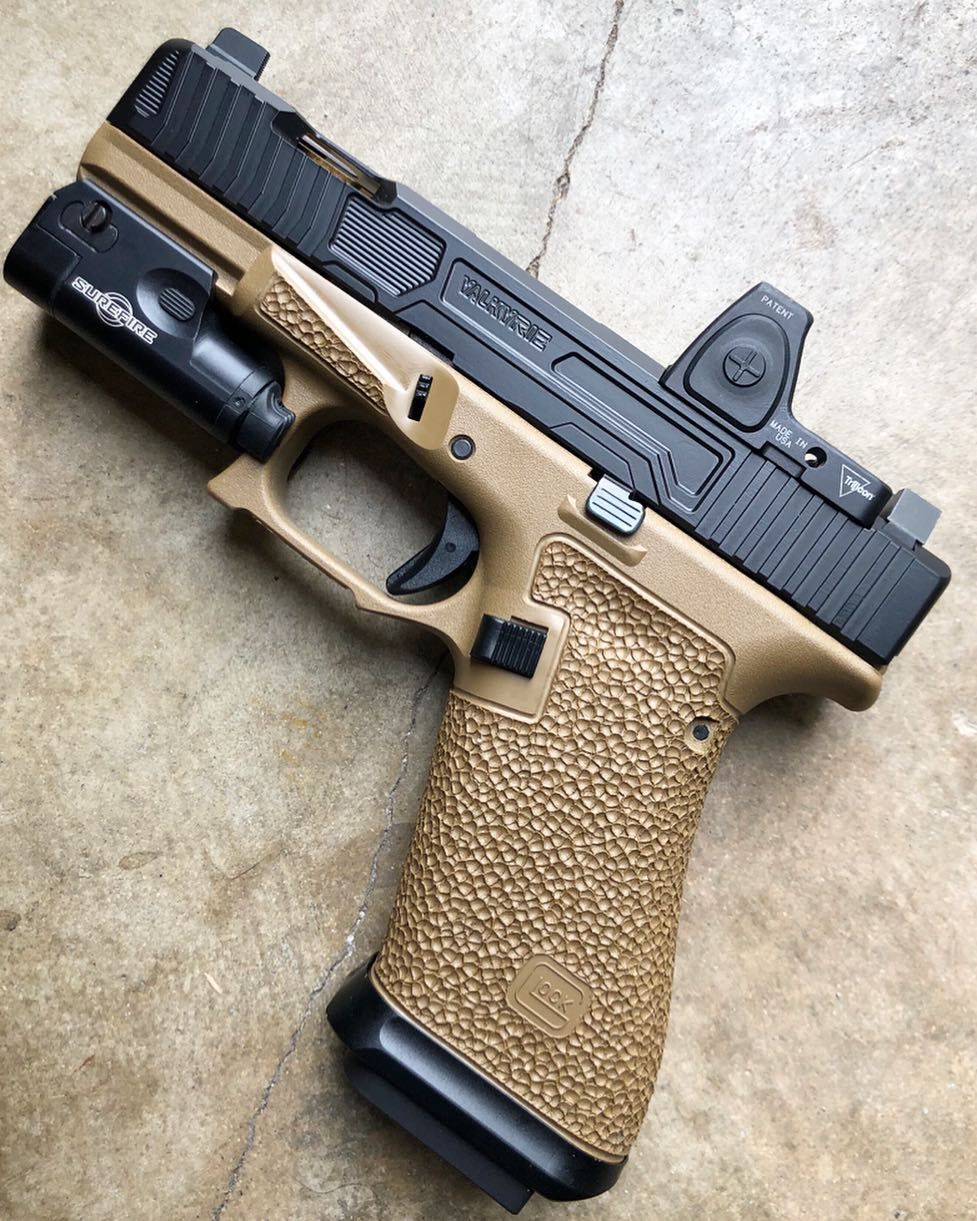 Glock 19X Signature package with nub removal, Agency Arms magwell