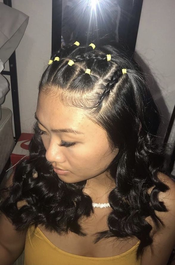 Pin By Leilani Trigales On Kids Hair Styles In 2020 Hair Styles Aesthetic Hair Natural Hair Styles Easy