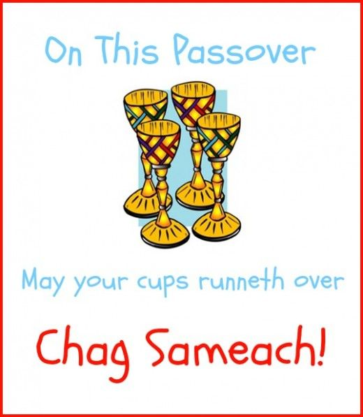 Happy passover find a cool passover greeting happy passover with four cups of wine and chag sameach m4hsunfo Choice Image