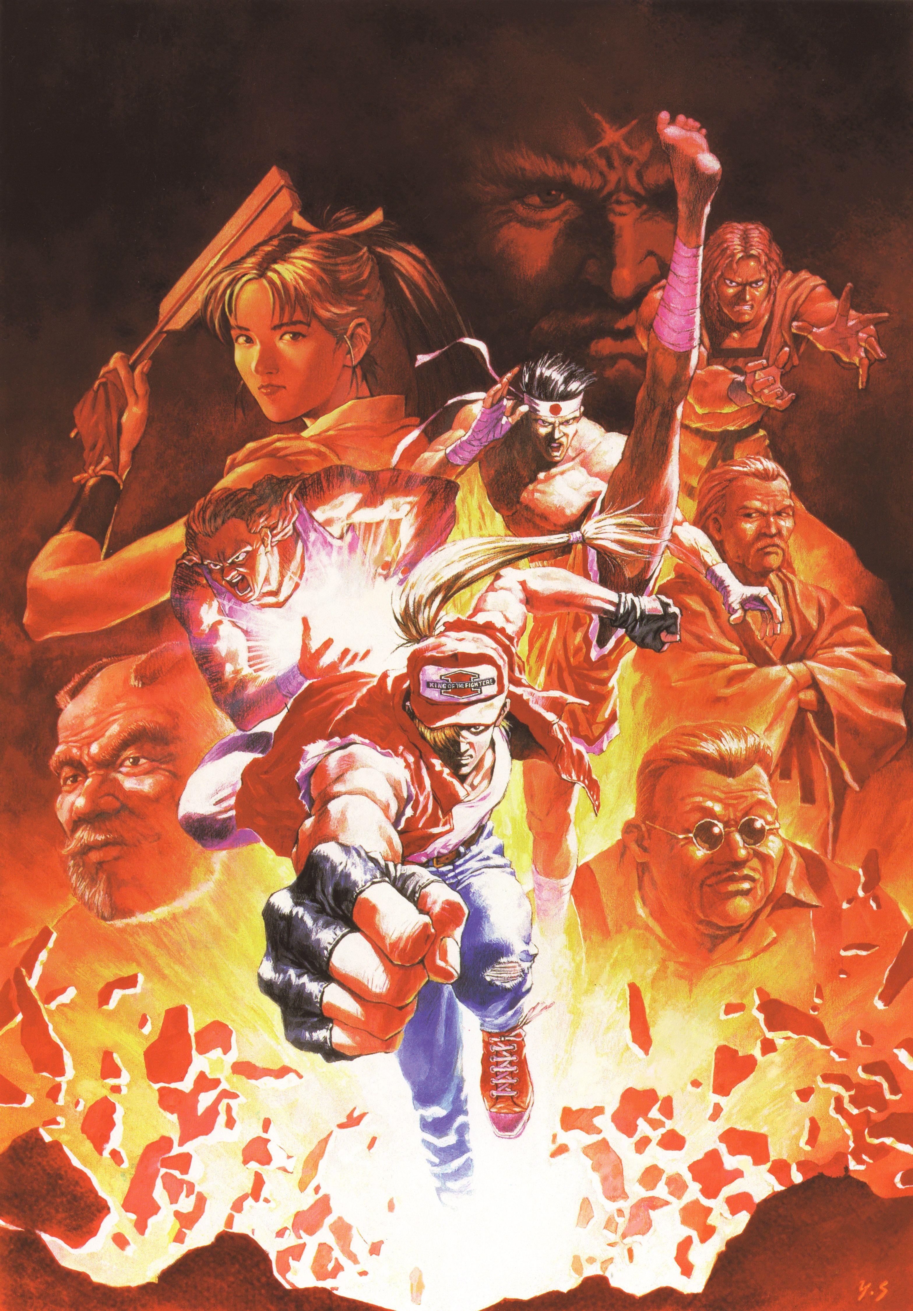 Fatal Fury 2 Game Art Concept Art Digital Art Of Fighting