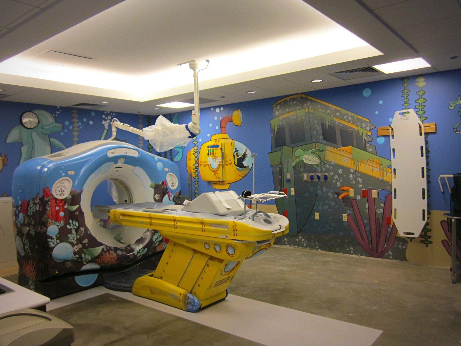 Hospitals create imaging adventures for pediatric