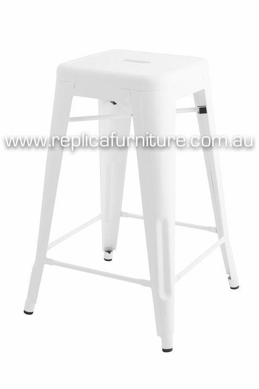replica xavier pauchard counter stool 65cm powder coat
