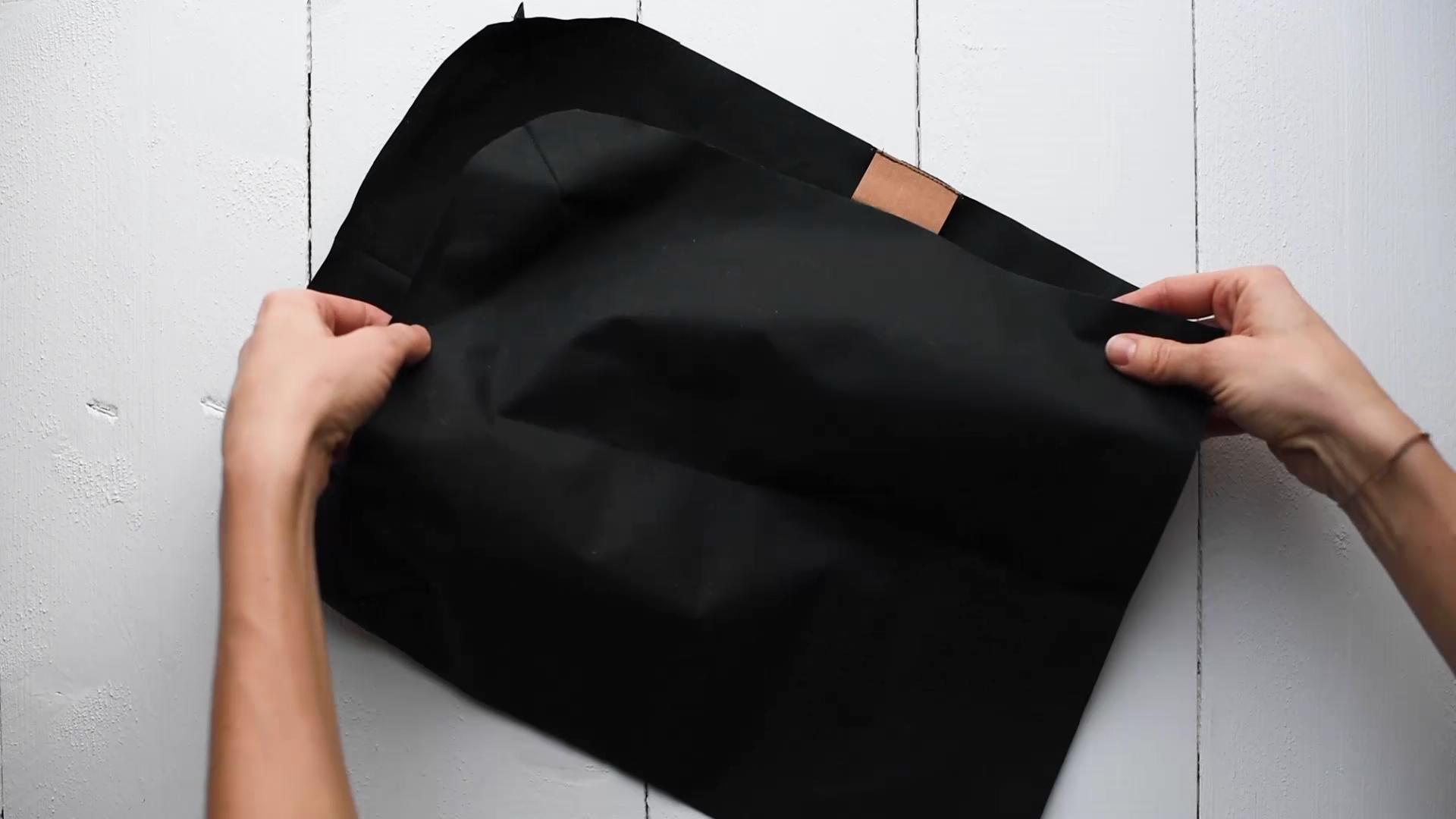 Tasche selber nähen: Sähst du dir eine Tasche im trendy Fold-Over Look!