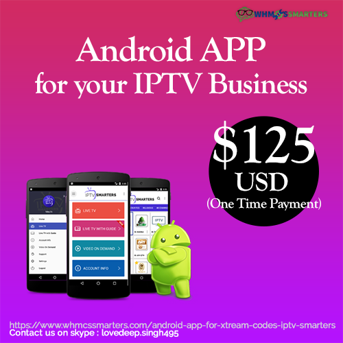 Pin by Whmcs Smarters on Android APP for Xtream Codes | Android apps