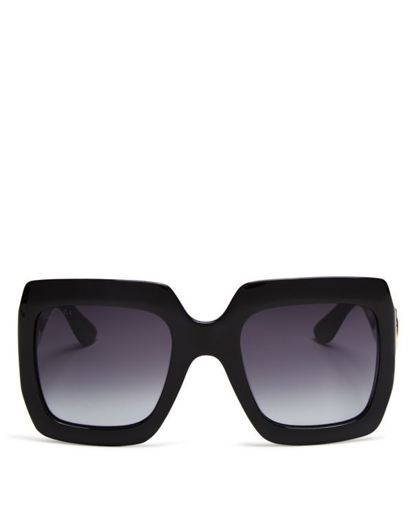 gucci 3559. gucci oversized square sunglasses, 53mm   made in italy 100% uv protection 3559